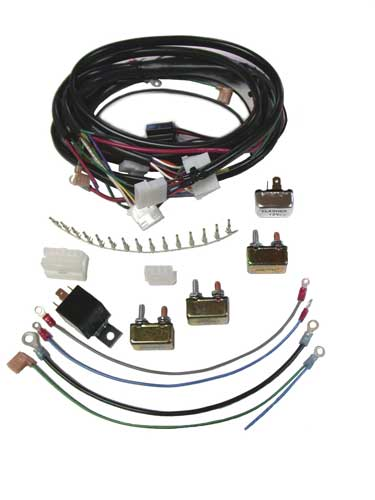 Custom Chopper Main Wiring Harness Kit