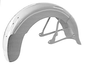Hinged Rear Fender For Early Model OHV Knucklehead, Panhead,