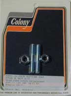 Fork Slider Bottom Cap, Stud And Nut Kit (FL 1949-Early 1977)