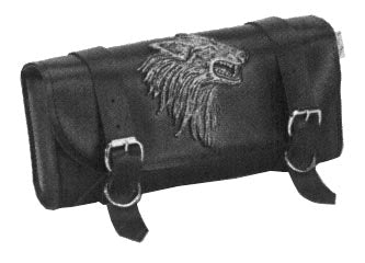 Willie And Max Wolf's Head Tool Pouch