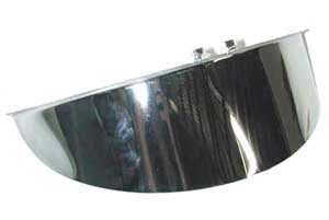 Headlight Visor (For 7 Inch Big Twin 1949-Later)