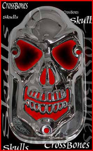 Die Cast Skull Taillight Lens Cover