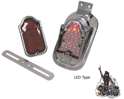Tombstone LED Taillight Assembly (1947-1954)
