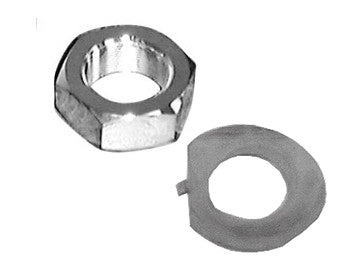 Stem Nut & Lock Nut for Most Wide Glide Models
