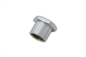 Chrome Stem Nut For Narrow Glide Triple Trees (flat top)