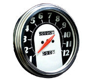 Fat Bob Speedometer for Transmission Drive
