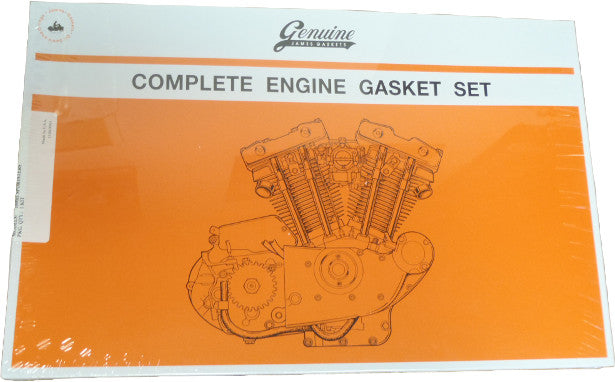 James Complete Engine Gasket Kit 72/85 XL Sportster