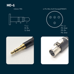 HC-1: 3.5mm TRS Headphone Cable