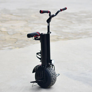 One wheel fat tire unicycle balance scooter - EBikesNMore.com