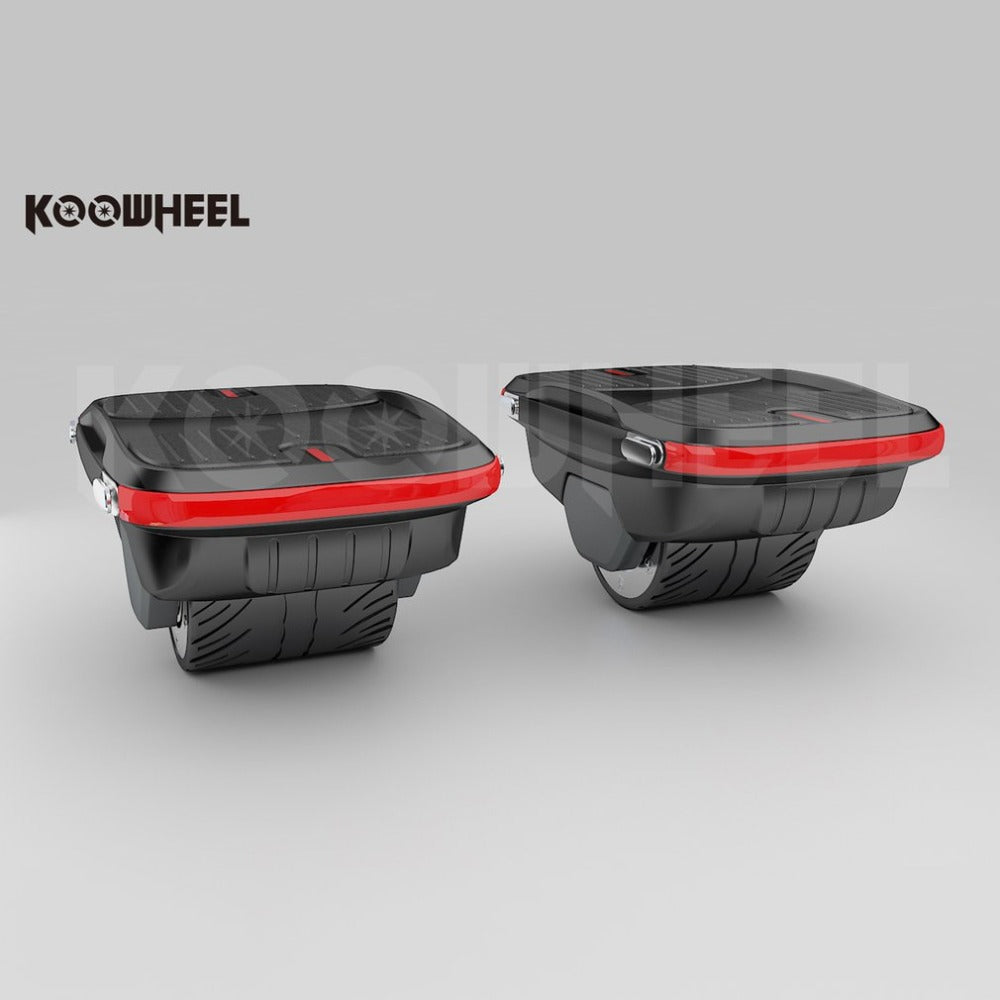 Koowheel single foot electric skateboards with on and off road capacity - EBikesNMore.com