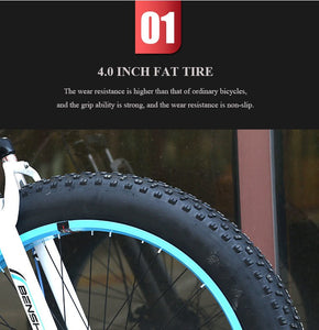 Diabot off road mountain electric bicycle 26 inch with full suspension - EBikesNMore.com