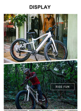 Off road fat tire electric bicycle  with 26 inch tires - EBikesNMore.com