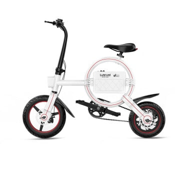 New portable folding electric bicycle with 36V 250W battery - EBikesNMore.com