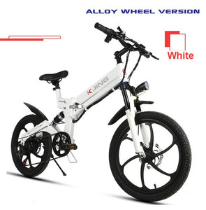 Off road mountain electric bicycle 20 inch wheels - EBikesNMore.com