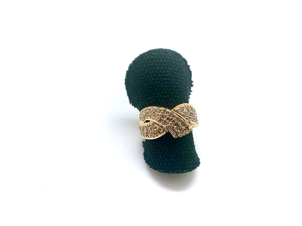 BAGUE TURBAN DIAMANTS