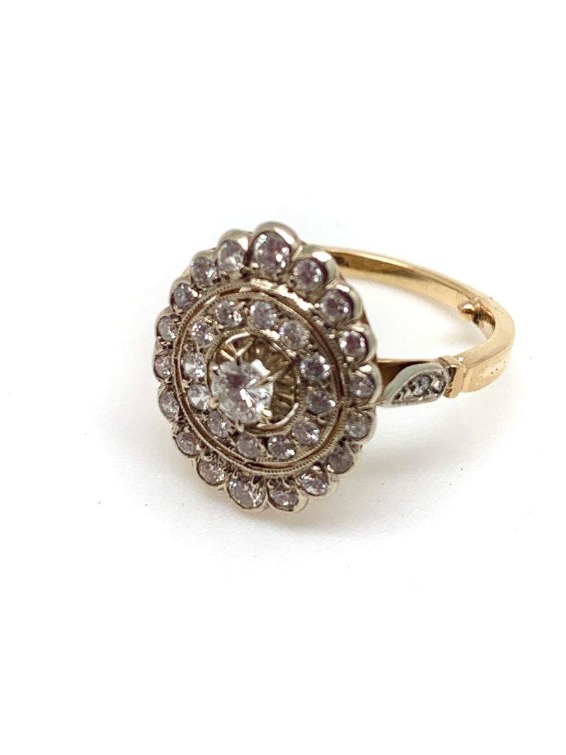 BAGUE SPIRALE DIAMANTS