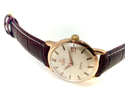 OMEGA GENEVE AUTOMATIQUE OR/CUIR