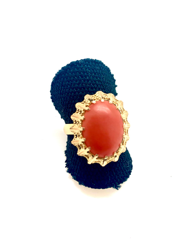 BAGUE OR CORAIL