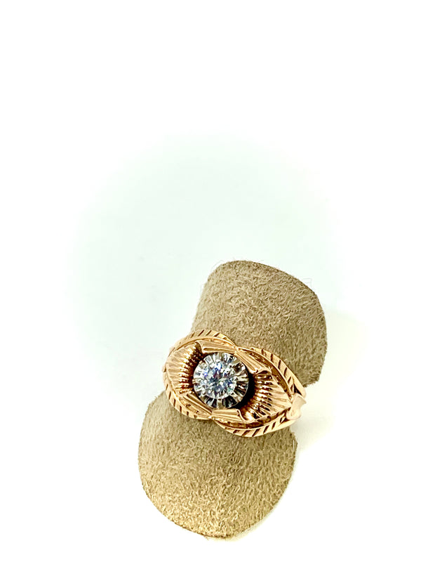 Bague art deco diamant