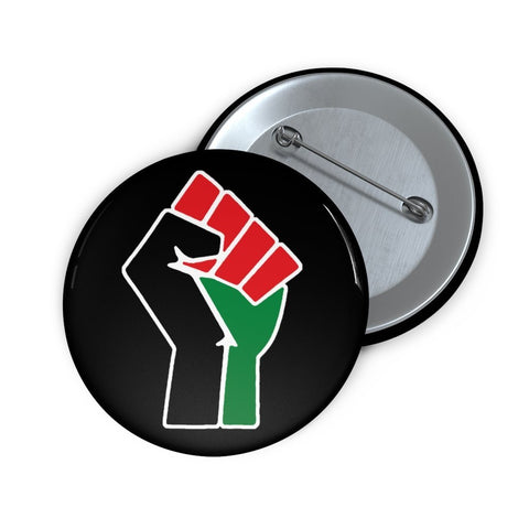 Power Fist Pin Button - HBCU Alumni, HBCU Apparel, Black Colleges