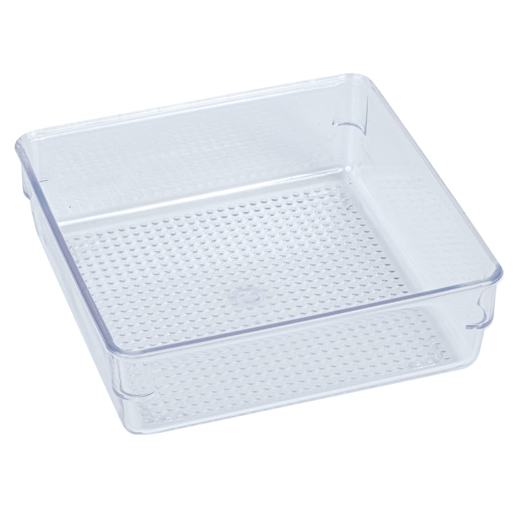 Clear Drawer Bin-Small