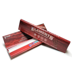 "Бумага для самокруток ""Elements Red Papers"" King Size"