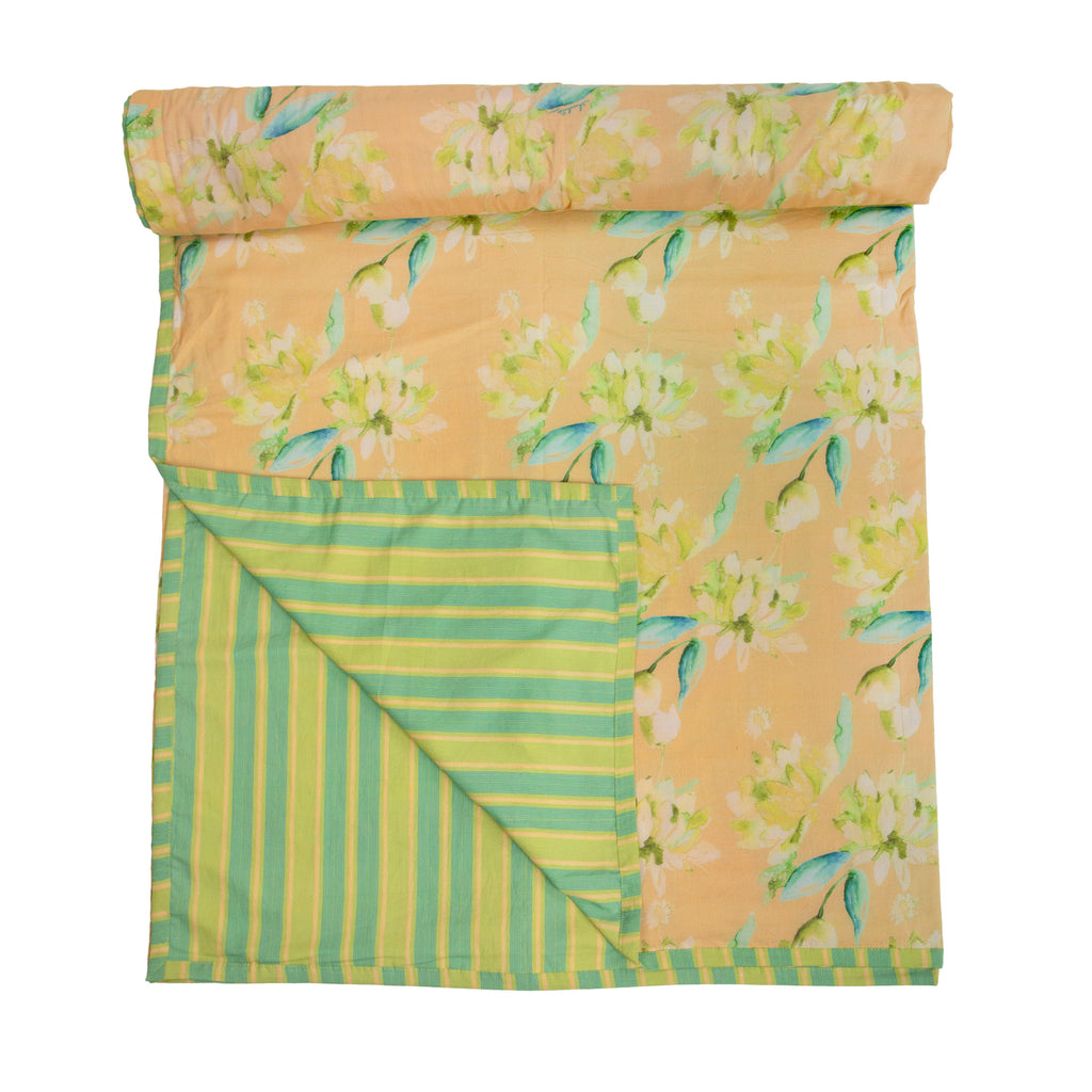Cotton Duvet / Dohar  125 Yellow