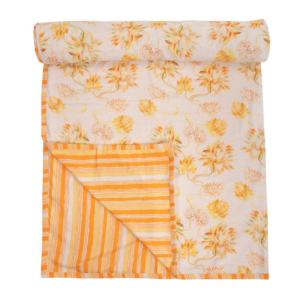 Cotton Duvet / Dohar  112 Yellow