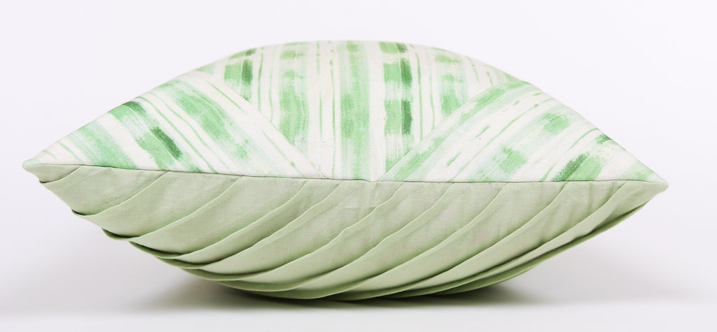 Cushion Cover / Stripes of Lines / 103 / Green