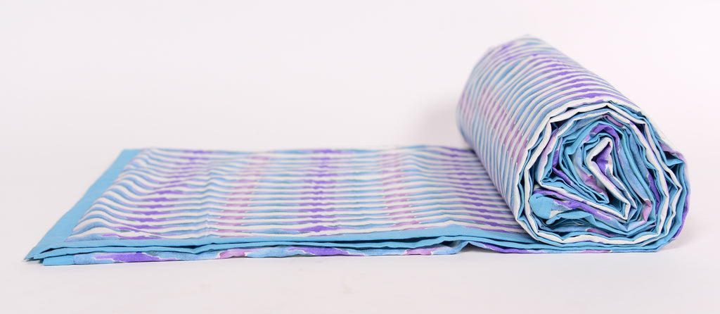 Duvet/Doher/Stripes of line/Blue Purple 304