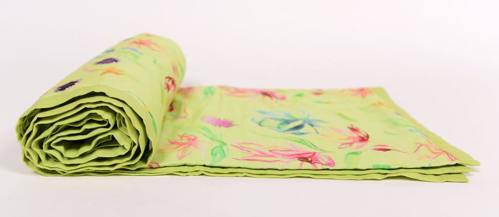 Duvet/Dohar/Floral Dreams/103 Lime