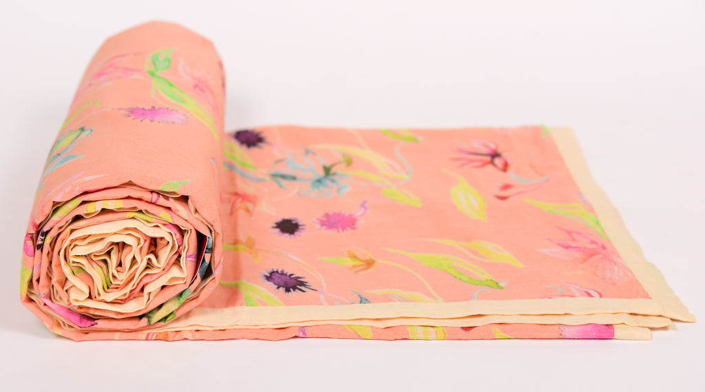 Duvat/Dohar/Floral Dreams/103 Peach