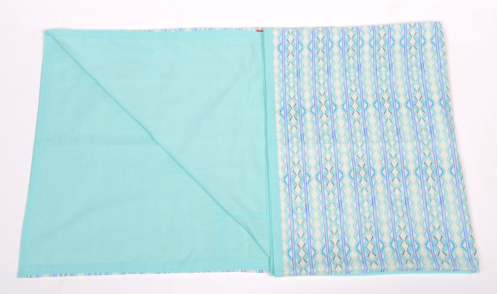 Duvet/Dohar/Stripes of line/309 Aqua