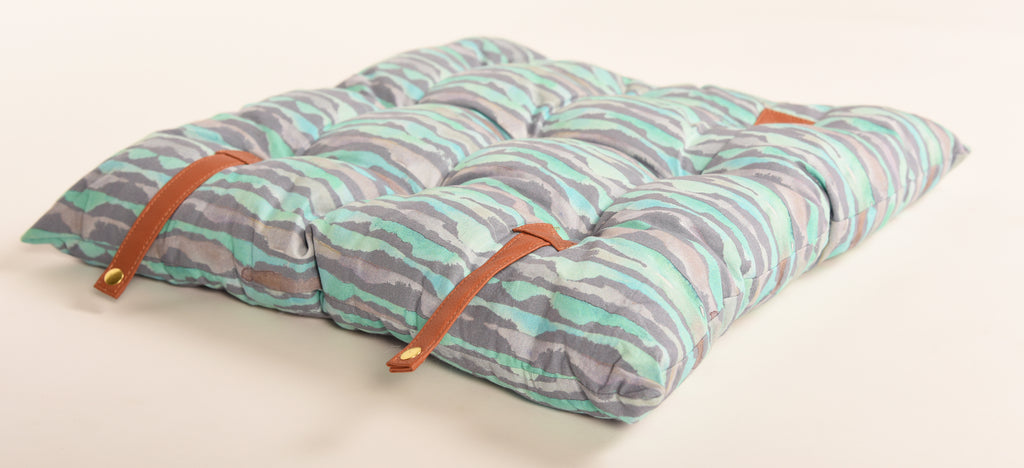 Travel Cushion-Set Of Three-310 Gray Blue