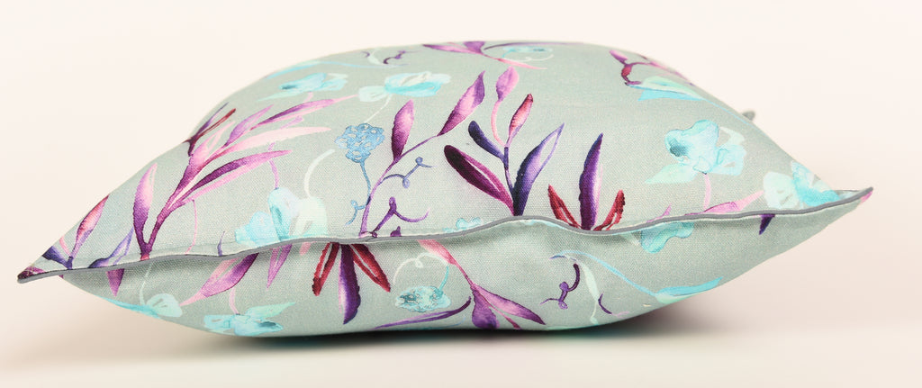 Floral Dreams Cushion Cover-Blue-109