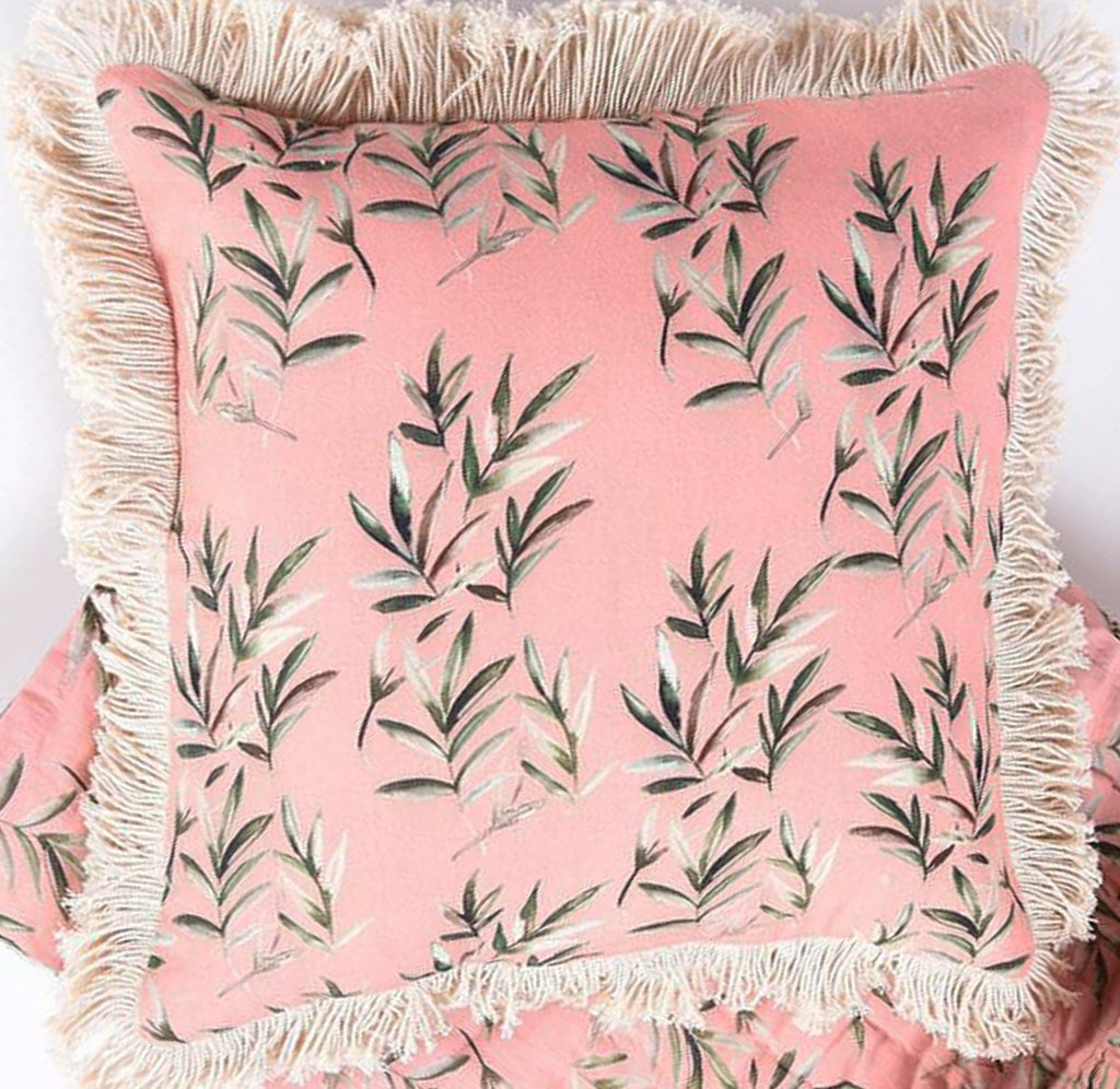 Soothing Tropical Peach Cushion cover 111