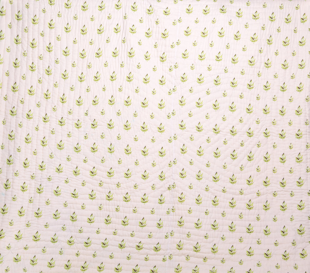Floral Dreams Cotton Quilt 203 GREEN