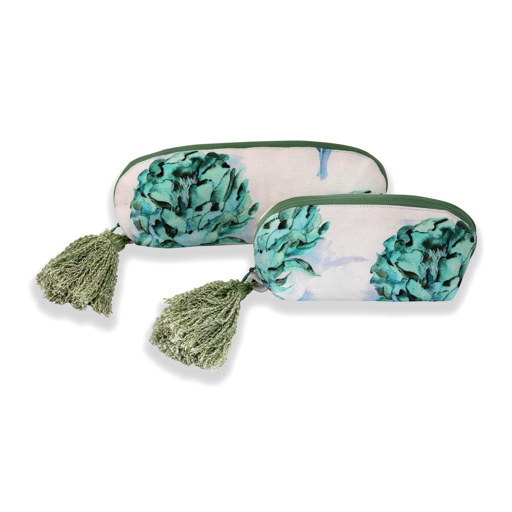 Floral Dreams Multy-utility pouches 121 White Aqua