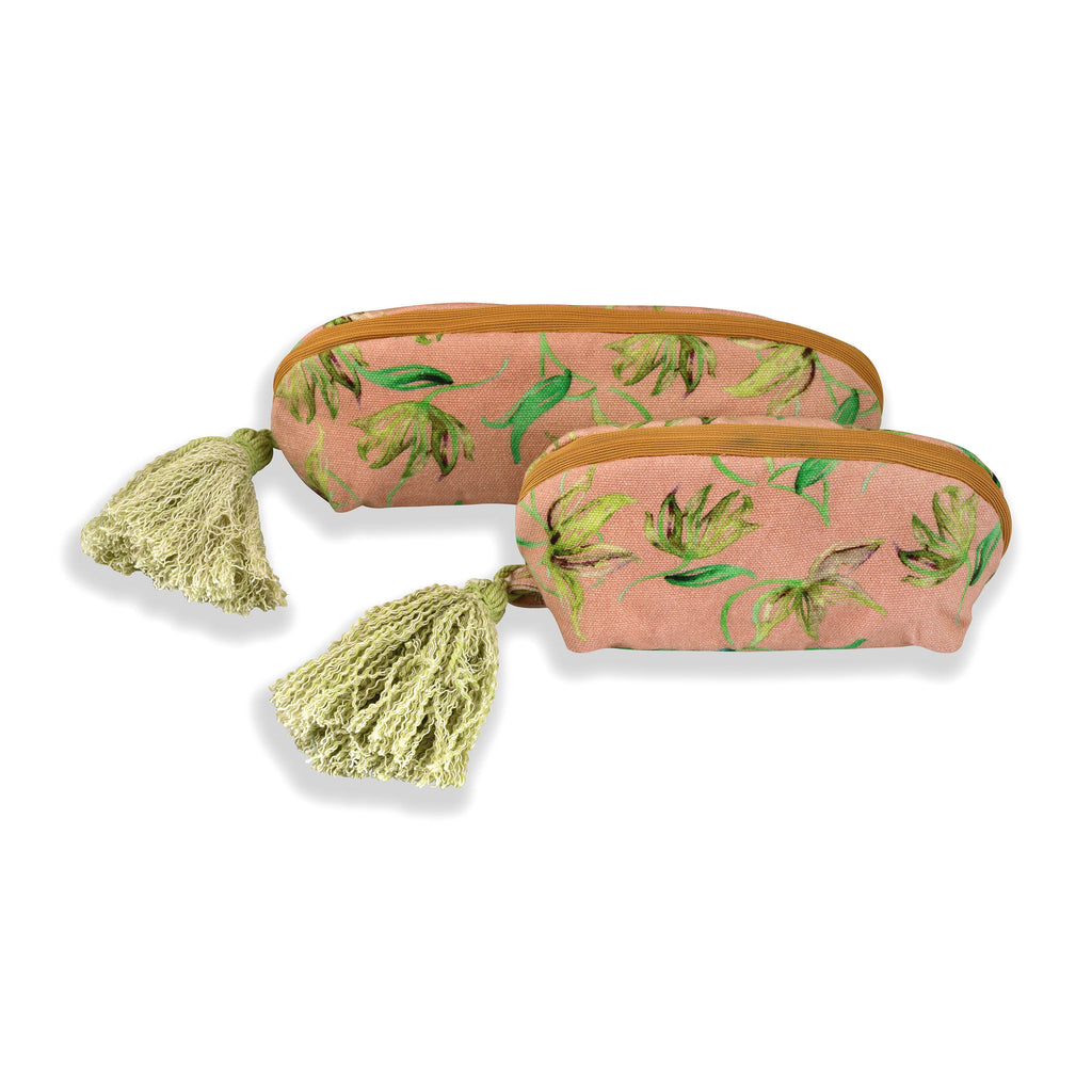 Floral Dreams Multy-utility pouches 124 Peach Yellow