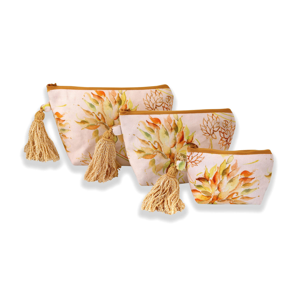 Floral Dreams Multy-utility pouches 120 White Yellow