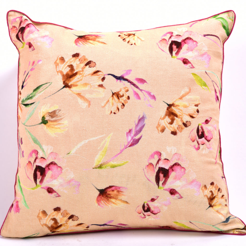 Floral Dreams / Ochre 101 / Cushion Cover
