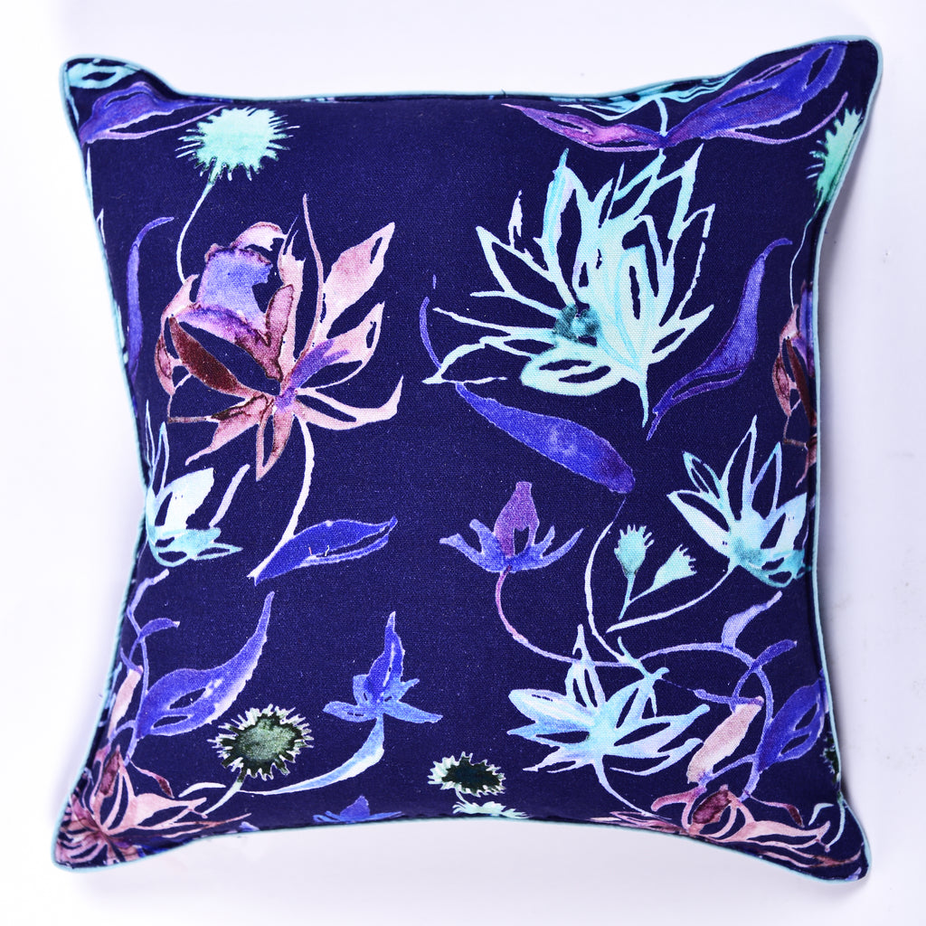 Floral Dreams / Deep Blue 103 / Cushion Cover