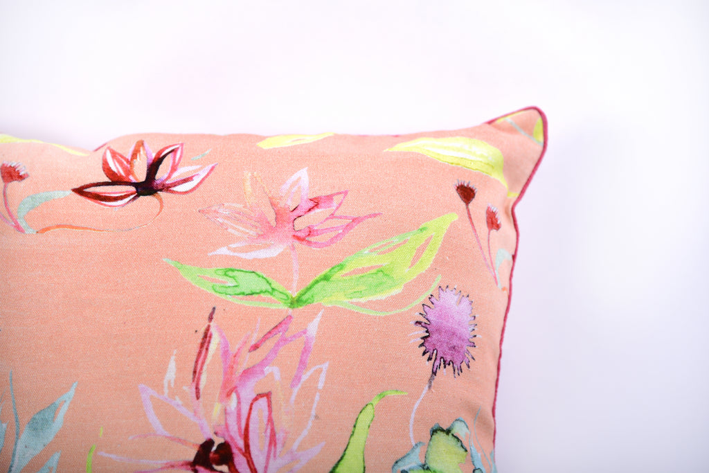 Floral Dreams / Peach 103 / Cushion Cover