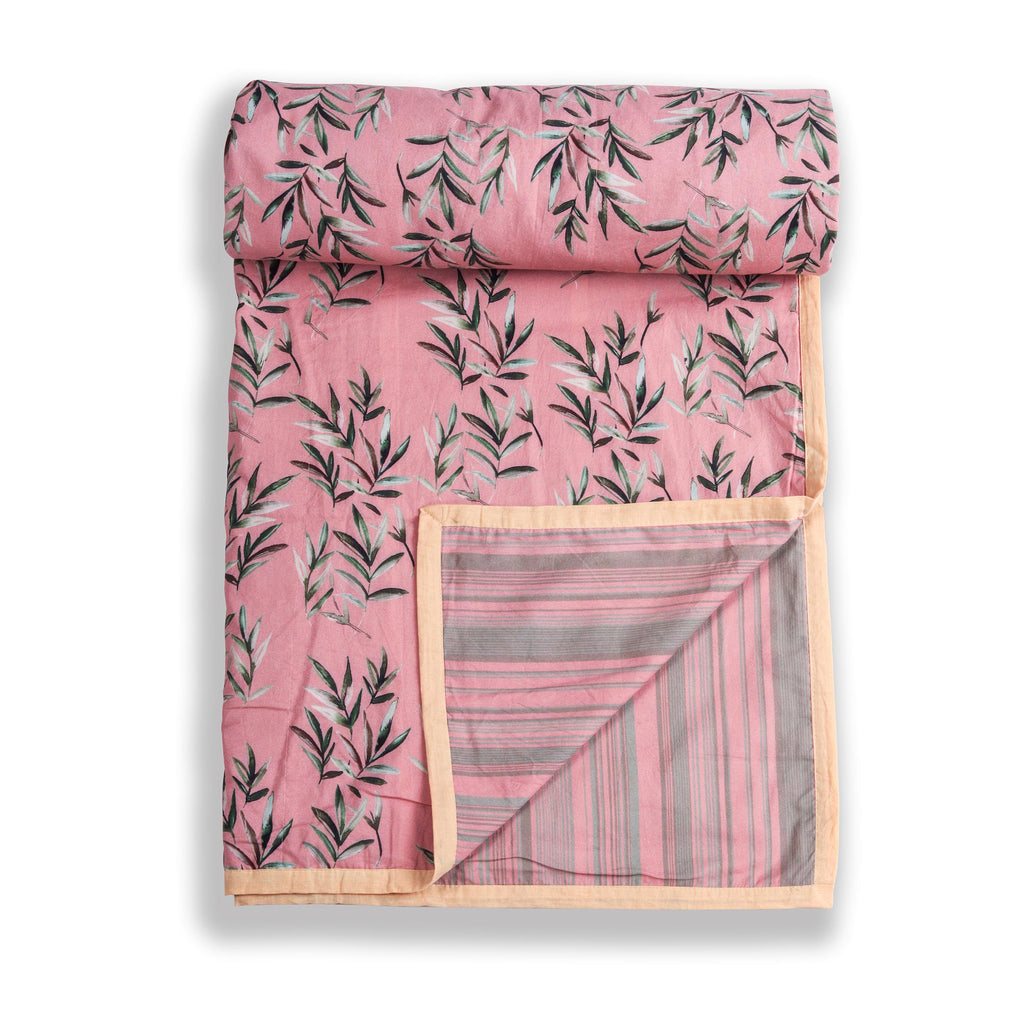 Floral Dreams Duvet / Dohar  111 Peach