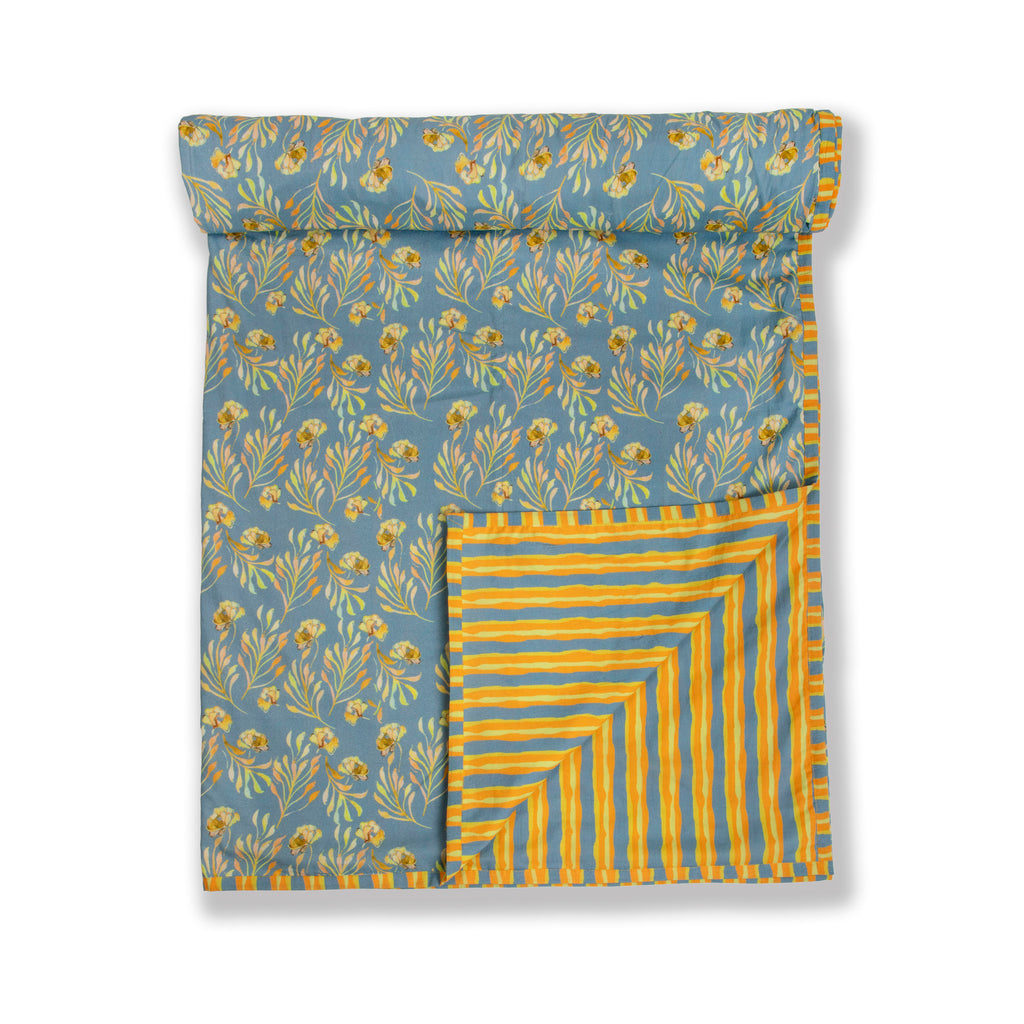 Cotton Duvet / Dohar  123 Grey Yellow