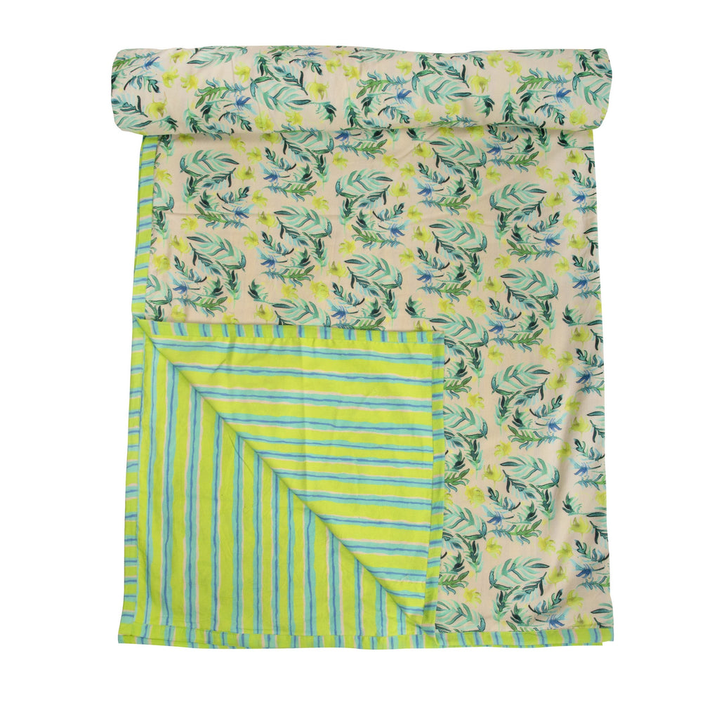 Cotton Duvet / Dohar  117 Green
