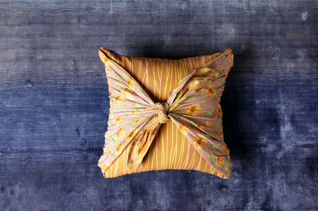 Playful Knot Double sided Cushion cover | One Cushion Two Ways