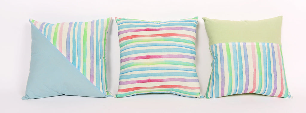 Stripes Cushions Set of 3