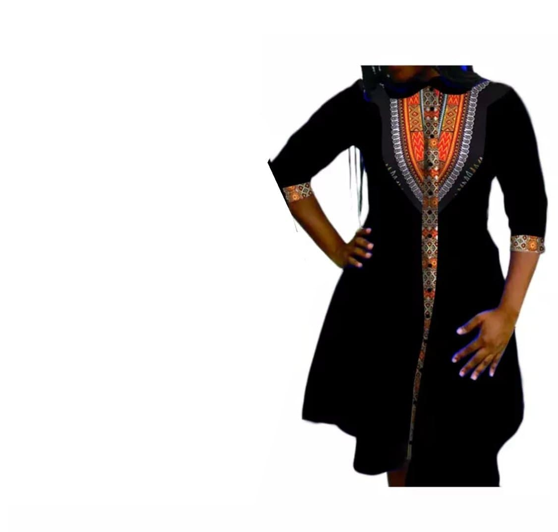 African Print Dress - Lyse Collection