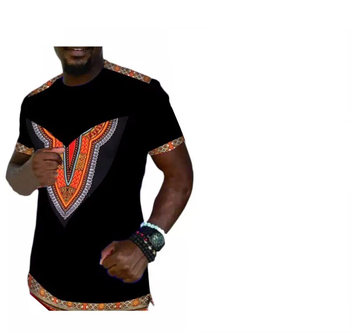 Men African Print Shirt - Lyse Collection